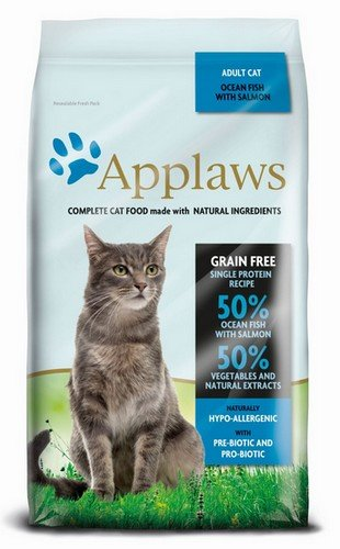 applaws cat adult ocean fish & salmon 350g karma sucha dla kota