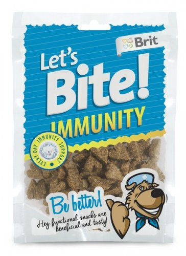brit care let's bite dog immunity 150g dla psa