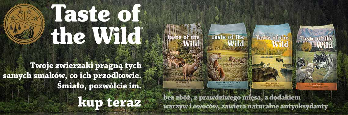 Karmy bezzbożowe Taste Of The Wild